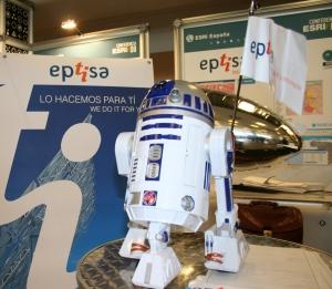 Stand de Eptisa TI en la Conferencia ESRI 2008