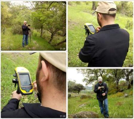 catastro con Trimble GEO7x